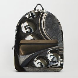 Retro rotary dial telephone Backpack
