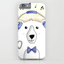 Polar Bear Jams iPhone Case