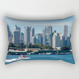 Goat Island, Sydney Harbour Rectangular Pillow