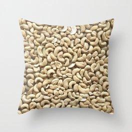 Cashew. Background Throw Pillow