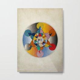 Mandala colors Metal Print