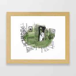 Paris. Framed Art Print