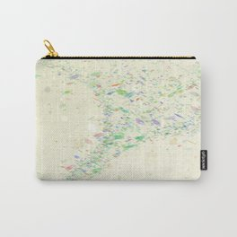 Confetti in the wind Carry-All Pouch