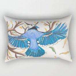 Bluejay Rectangular Pillow