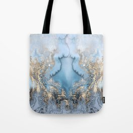 GOLD CLOUDS MARBLE Tote Bag