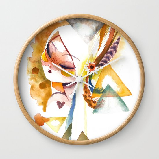 wilt Wall Clock