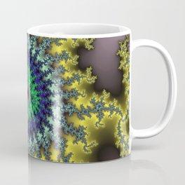 Fractal Target Coffee Mug