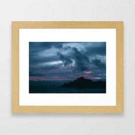Kiwanda Blue Hour Framed Art Print