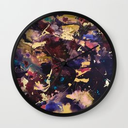 Serenity Blush Wall Clock