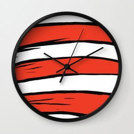The Dr. is in the house Wall Clock