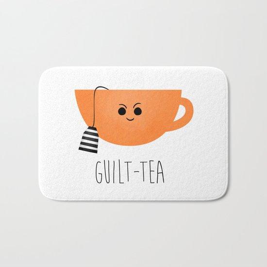 Guilt-tea Bath Mat
