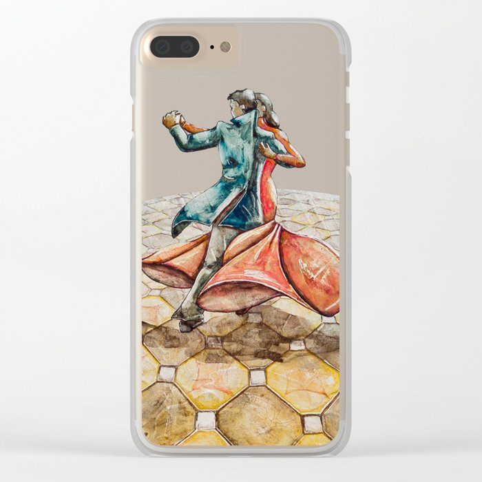 However, let's dance Clear iPhone Case