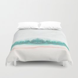 blue and green Duvet Cover