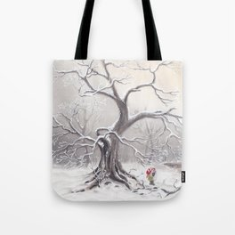 Gnome and fox Tote Bag