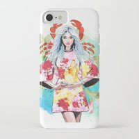 cancer iPhone & iPod Cases featuring Cancer by Sara Eshak