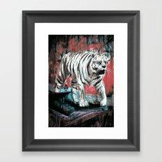 Byakko Framed Art Print