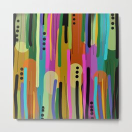 Forest of  Colors Metal Print