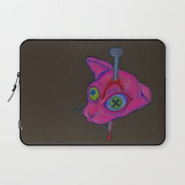 Killed The Cat Laptop Sleeve