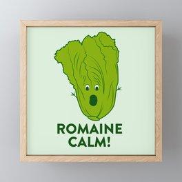 ROMAINE CALM Framed Mini Art Print