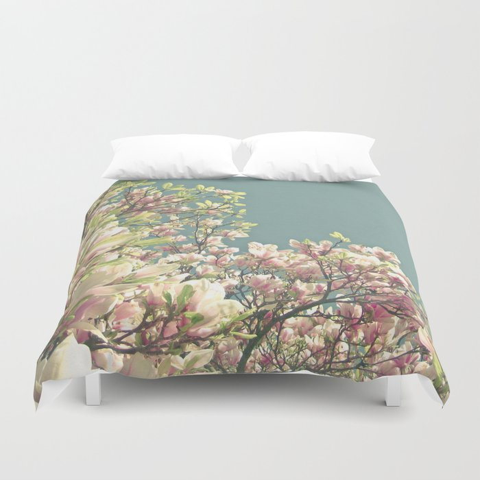 Magnolia in Bloom Duvet Cover