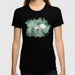 Flower Panda T-shirt