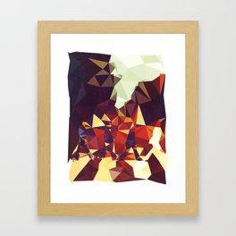 Abbey Road Geometric Framed Art Print