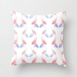 Cyprinus carpio Throw Pillow