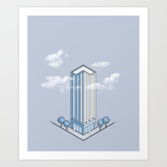 Architecture - You're Doing it Wrong Art Print