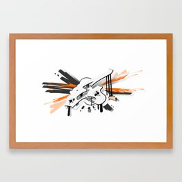 """EX"" Framed Art Print"