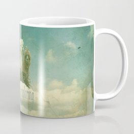 ALPACAS EXPLORING (THE CLOUDS) Coffee Mug