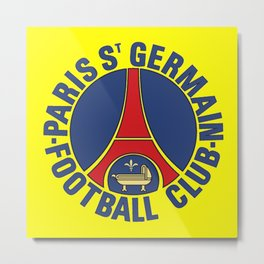 Paris Saint-Germain F.C. Metal Print