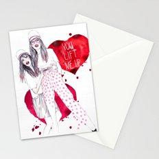 High, Valentine :-) Stationery Cards