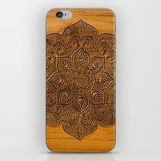 Wood Mandala iPhone & iPod Skin