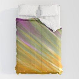 Golden Aurora Comforters