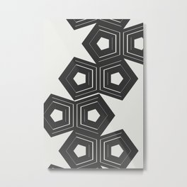 Abstract Pattern Polygon #society6 #decor #buyart Metal Print