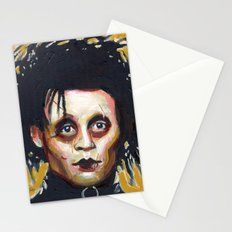 Edward Scissorhands - Johnny Depp Stationery Cards