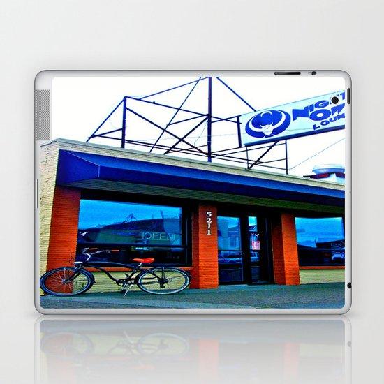 Tacoma's Night Owl Laptop & iPad Skin