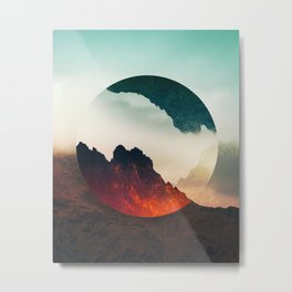 Second Sphere Metal Print