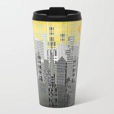 Plaid City Metal Travel Mug