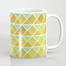 Tiny triangles pattern Coffee Mug