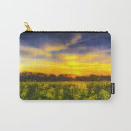 April Afternoon Field Art Carry-All Pouch