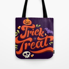 Happy Halloween Trick or Treat Time Tote Bag