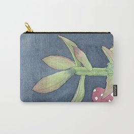 Succulent And Mushroom Additional Carry-All Pouch