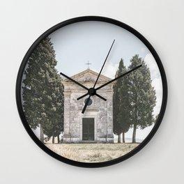 Chapel of the Madonna di Vitaleta Wall Clock