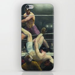 "George Wesley Bellows ""George Dempsey and Firpo"" iPhone Skin"