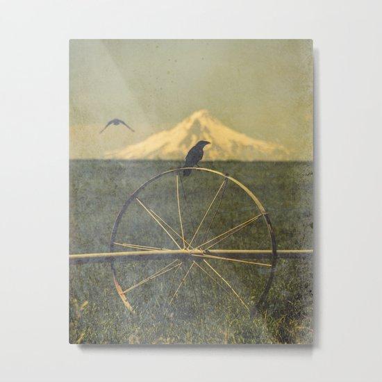 Jefferson Raven II Metal Print