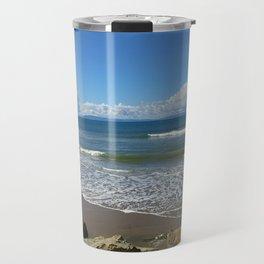 California Beach 1 Travel Mug