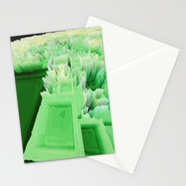 Random 3D No. 140 (Central Park of NY) Stationery Cards