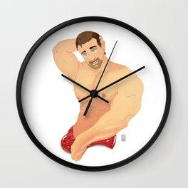 Oh, Humility Wall Clock