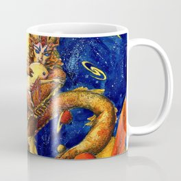 Space mermaid Coffee Mug